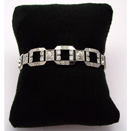 Armband 750 WG Brillantarmband 750 WG 4,50ct